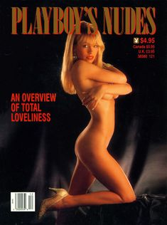 Молодая обнаженная Памела Андерсон в журнале Playboy's Nudes фото #1