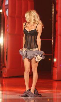 Памела Андерсон в сексуальном белье на телешоу фото #4