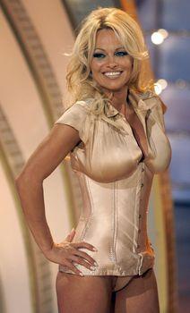 Памела Андерсон в соблазнительном наряде на телешоу Welcome to Carmen Nebel фото #1