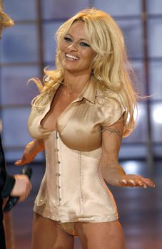Памела Андерсон в соблазнительном наряде на телешоу Welcome to Carmen Nebel фото #4
