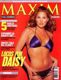 Эротичная Дэйзи Фуэнтес в журнале Maxim фото #1