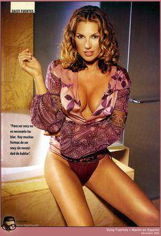 Эротичная Дэйзи Фуэнтес в журнале Maxim фото #3