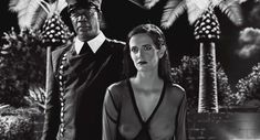 Голая Ева Грин в фильме «Город Грехов 2: Женщина, ради которой стоит убивать» фото #4