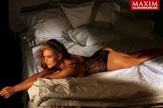 Обнаженная Глюкоза в журнале Maxim фото #3