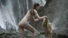 Голая Алисса Сазерленд в сериале «Викинги» фото #3