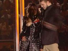 Красотка Джанет Джексон засветила грудь в видео Super Bowl Breast Flash HDTV фото #1