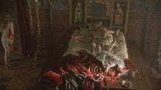 Голая грудь Джемаймы Уэст в сериале «Борджиа» фото #7