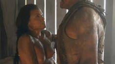 Красотка Катрина Ло оголила грудь и попу в сериале «Спартак: Месть» фото #13