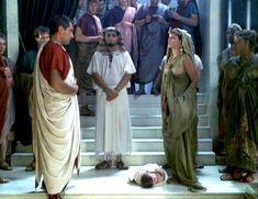 Засвет сосков Леонор Варела в сериале «Клеопатра» фото #48
