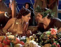 Засвет сосков Леонор Варела в сериале «Клеопатра» фото #61