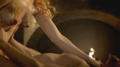 Голая Лора Хэддок в сериале «Демоны Да Винчи» фото #1