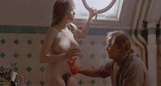 Абсолютно голая Мария Шнайдер в фильме «Последнее танго в Париже» фото #32