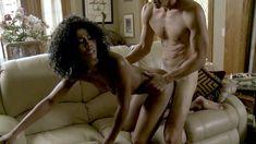 Обнажённая Мисти Стоун в эротическом фильме Invisible Centerfolds фото #6