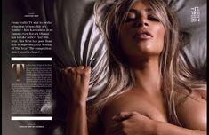 Обнаженная Ким Кардашьян в журнале GQ фото #6