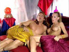 Голая Николь Шеридан в порнофильме The Erotic Dreams of Jeannie фото #9
