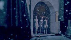 Голая Оливия Ченери в сериале «Страшные сказки» фото #4