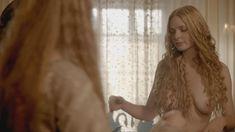 Голая Ребекка Фергюсон в сериале «Белая королева» фото #3
