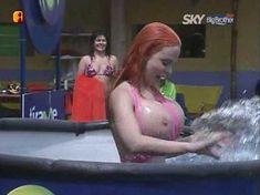 Голая Сабрина Саброк в сериале «Большой Брат VIP. Мексика» фото #3