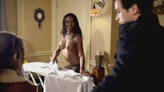 Голая Шанола Хэмптон в сериале «Бесстыдники» фото #19