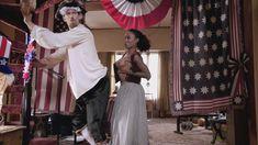 Голая Шанола Хэмптон в сериале «Бесстыдники» фото #33