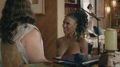 Голая Шанола Хэмптон в сериале «Бесстыдники» фото #56