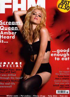 Секси Эмбер Хёрд в журнале FHM фото #1