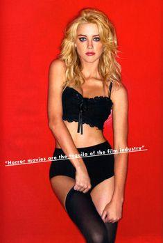 Секси Эмбер Хёрд в журнале FHM фото #4
