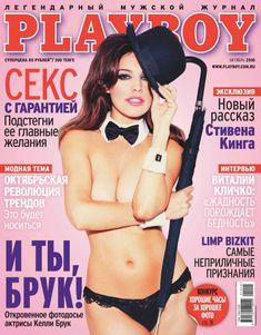 Обнаженная Келли Брук в русском Плейбое фото #1