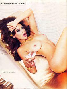 Келли Брук разделась для журнала Playboy фото #2