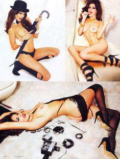 Келли Брук разделась для журнала Playboy фото #4