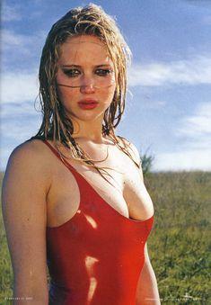 Сексуальная Дженнифер Лоуренс в журнале Rolling Stone фото #1