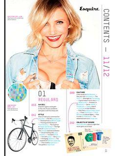 Эротичная Камерон Диаз в журнале Esquire фото #2