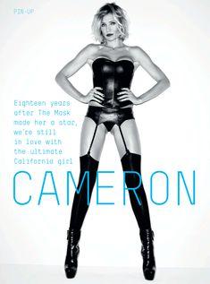 Эротичная Камерон Диаз в журнале Esquire фото #3