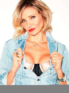Эротичная Камерон Диаз в журнале Esquire фото #5
