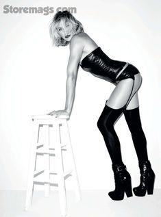 Эротичная Камерон Диаз в журнале Esquire фото #7