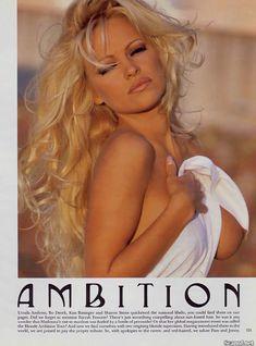 Памела Андерсон позирует голой для журнала Playboy фото #1