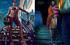 Полностью голая Ким Кардашьян в журнале Love фото #3