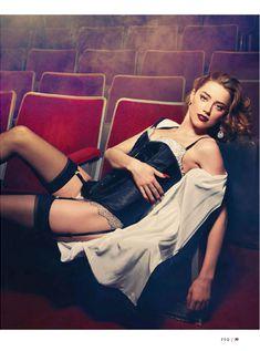 Сексуальная Эмбер Хёрд в журнале Esquire фото #3