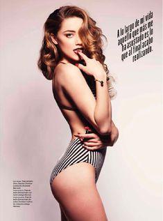 Сексуальная Эмбер Хёрд в журнале Esquire фото #6