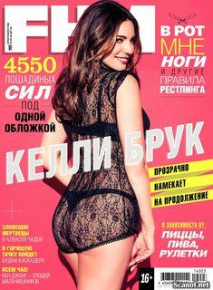 Сексуальная Келли Брук в журнале FHM фото #1