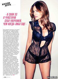 Сексуальная Келли Брук в журнале FHM фото #3