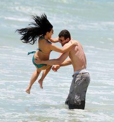 Красотка Ким Кардашьян отдыхает на пляже Пуэрто-Вальярта фото #24