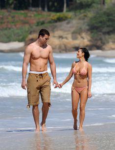 Красотка Ким Кардашьян отдыхает на пляже Пуэрто-Вальярта фото #33