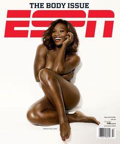 Секси Серена Уильямс в журнале ESPN фото #1