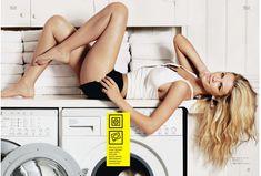 Бруклин Деккер в прозрачной футболке для Журнала Esquire фото #5