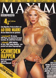 Красотка Виктория Сильвстедт обнажилась для журнал Maxim фото #1