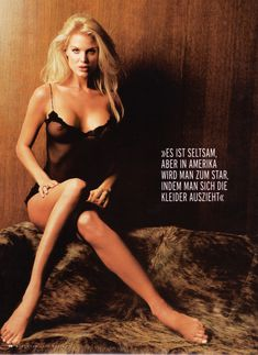 Красотка Виктория Сильвстедт обнажилась для журнал Maxim фото #2
