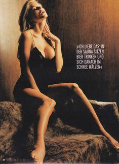Красотка Виктория Сильвстедт обнажилась для журнал Maxim фото #6