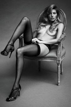 Джессика Харт в эро фотосессии Бруно Штауба фото #1