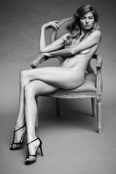 Джессика Харт в эро фотосессии Бруно Штауба фото #2
